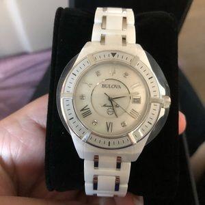 dcc5d318f0b2 Bulova Accessories - Bulova Women s Marine Star Diamond Ceramic Watch
